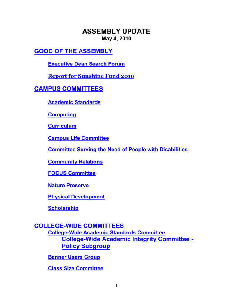 Campus Committees – Suffolk County Community College Inside Suffolk Community College Academic Calendar