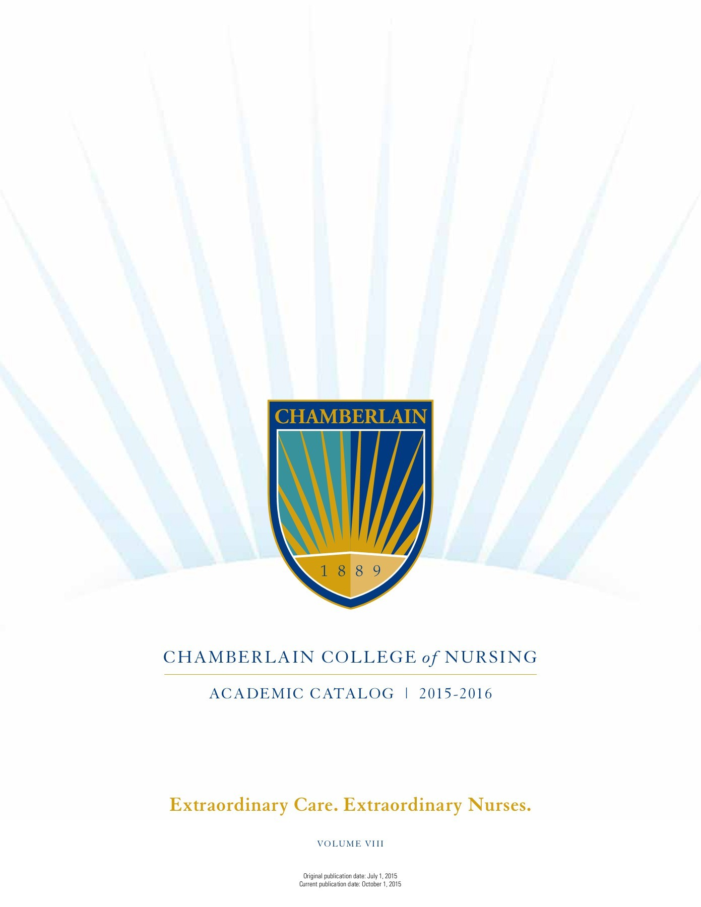Chamberlain College Of Nursing Catalog Pages 1 - 50 - Text Regarding Chambelain College Spring Break