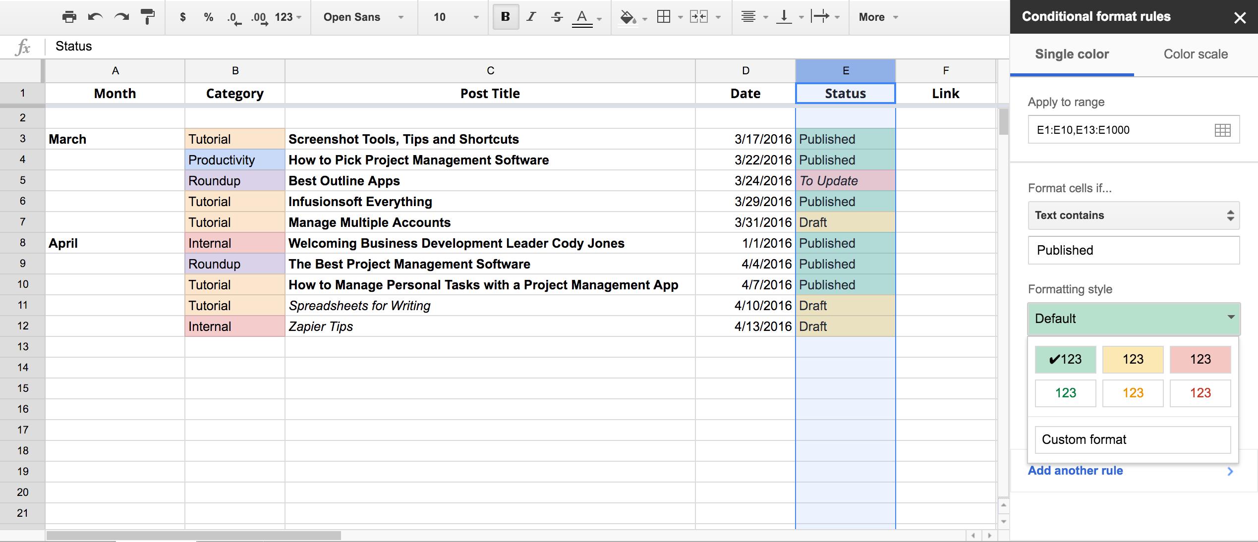 Content Calendar Spreadsheet Instagram Template Free Social Pertaining To Convert Spreadsheet To Calendar