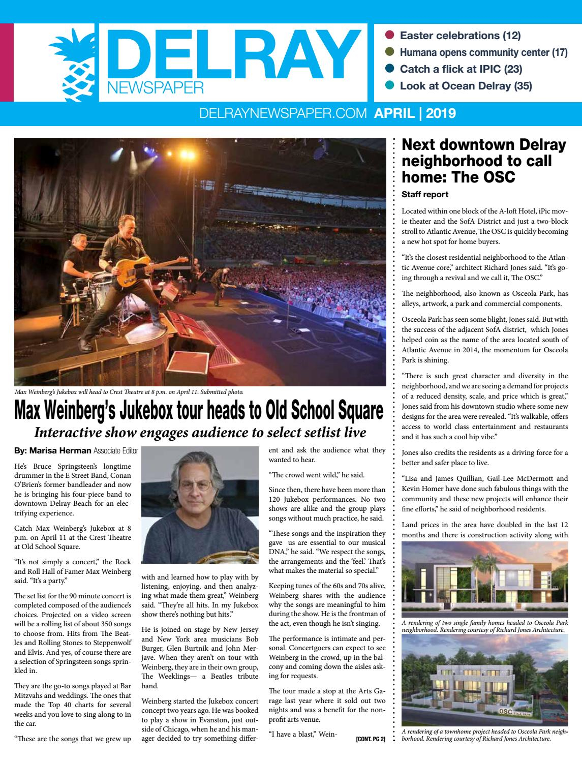 Delray Newspaper | April 2019Four Story Media Group – Issuu Pertaining To Apparel Show South Florida Fairgrounds April 7 9