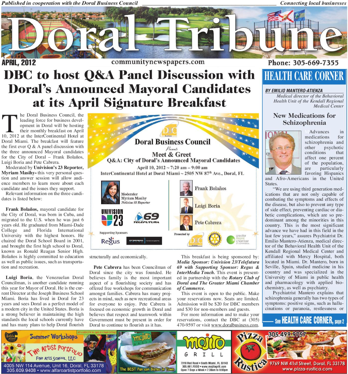 Doral Tribune April 2012Community Newspapers - Issuu Inside Miami Dade Public Schools Calendar 2021  2020
