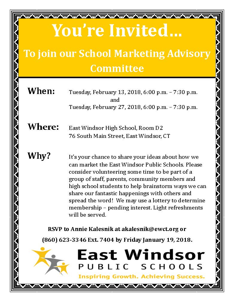 East Windsor Public Schools :: School Marketing Advisory Within East Windsor School Calendar 2021