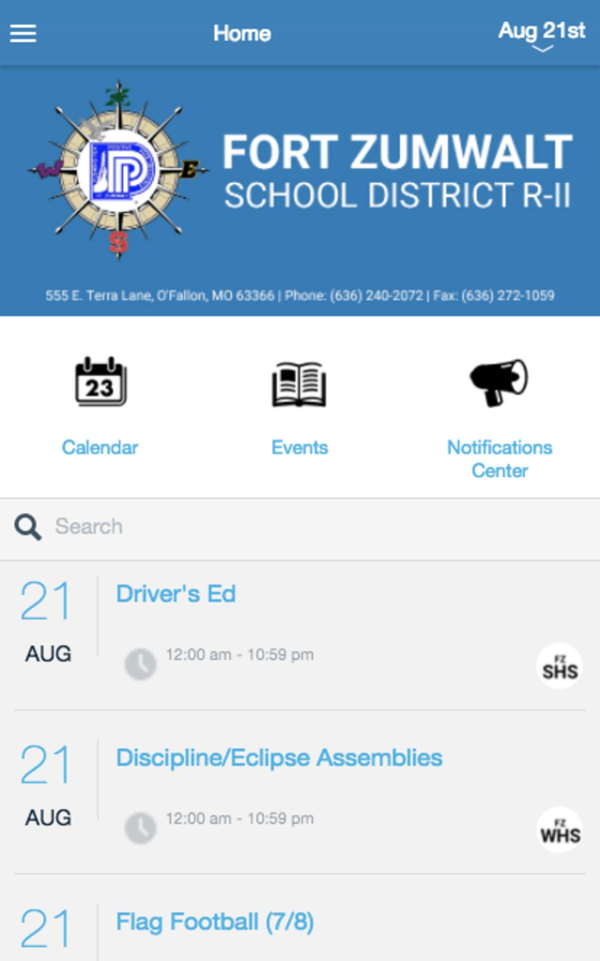 Fort Zumwalt School District For Android - Apk Download With Fort Zumwalt Academic Calendar