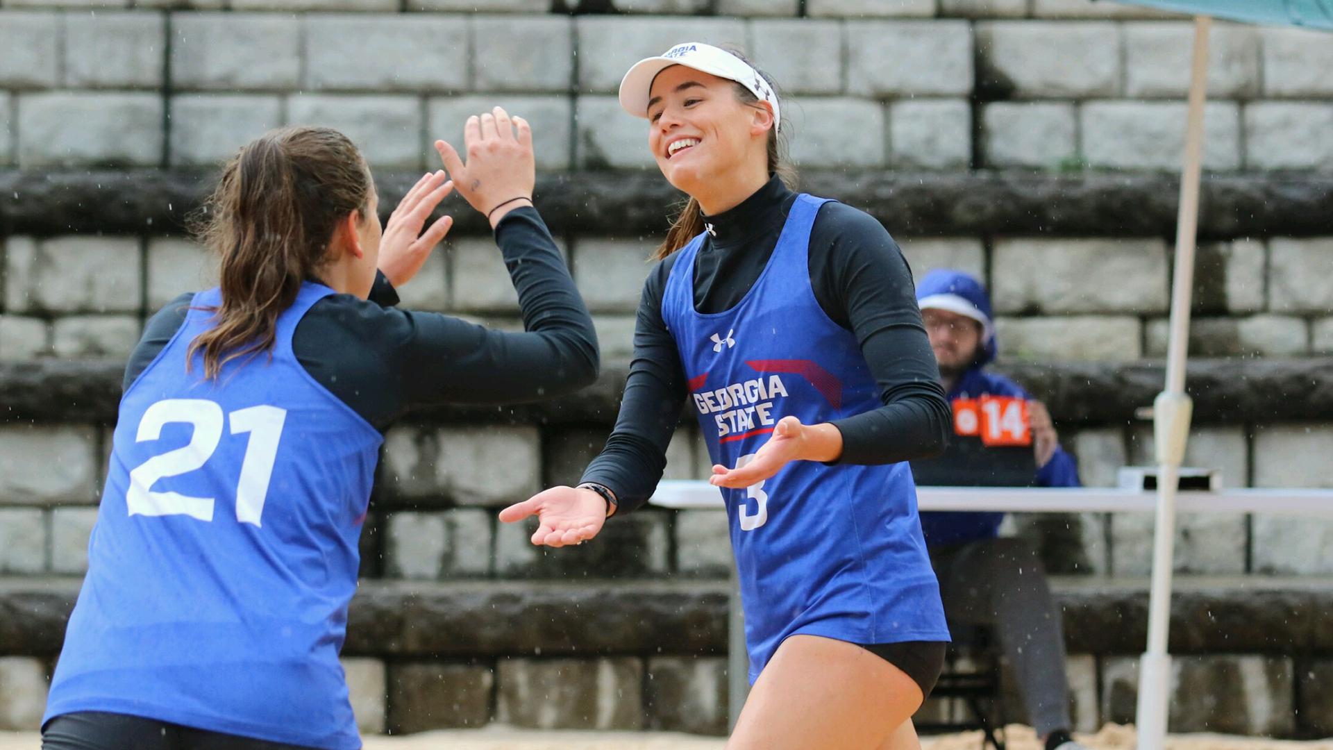 Georgia Johnson – 2021 – Beach Volleyball – Georgia State For Georgia State University Summer 2021