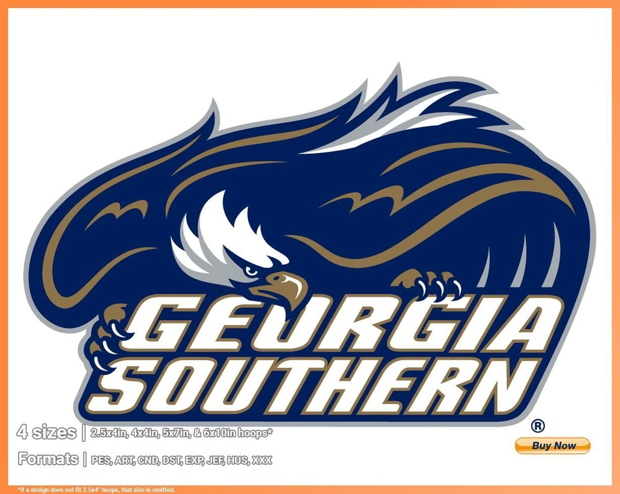 Georgia Southern Eagles – College Sports Embroidery Logo In For Georgia State University Holidays 2020