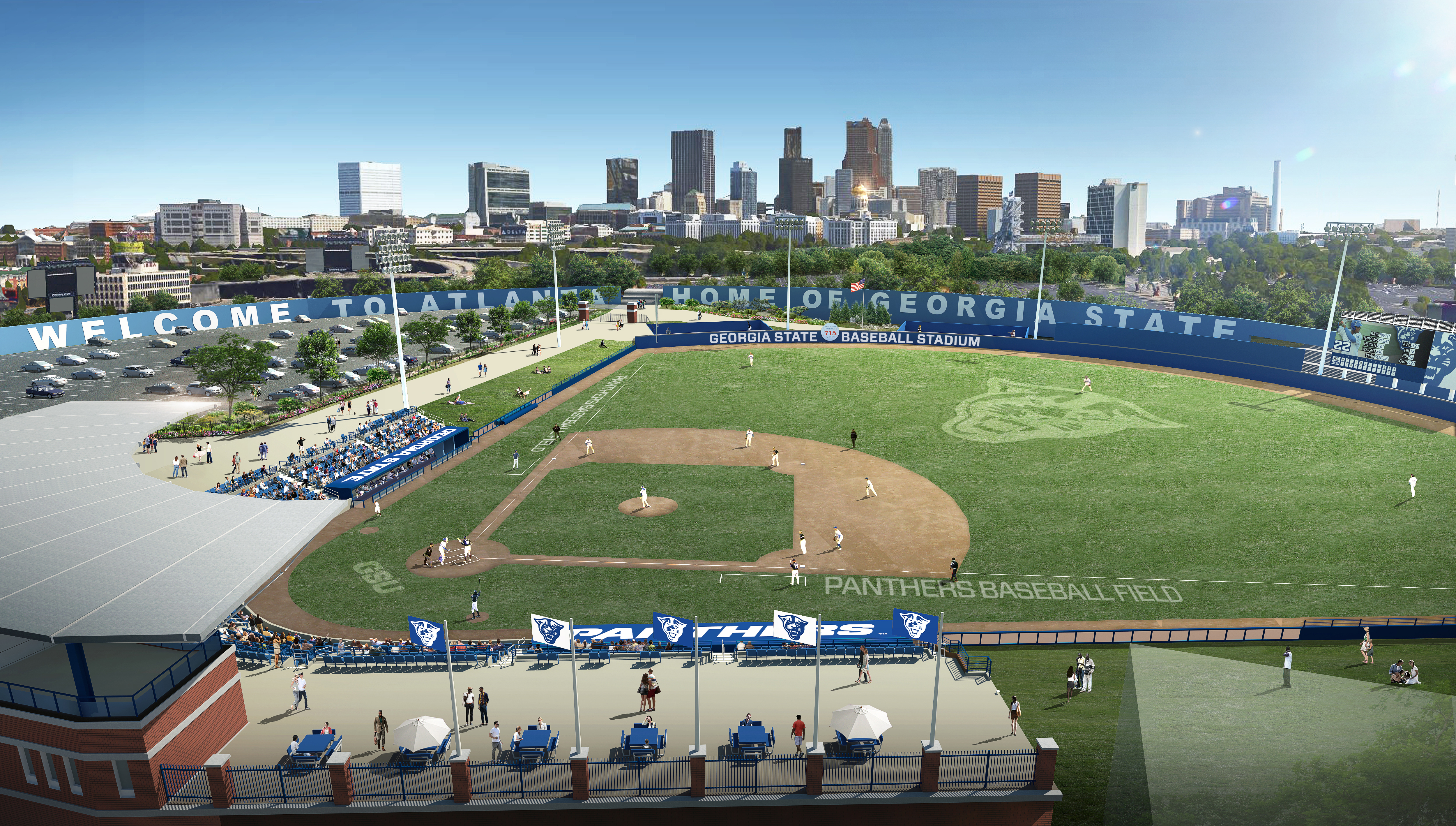 Georgia State Approves Turner Field Cost | Ballpark Digest Throughout Georgia State University Summer 2021