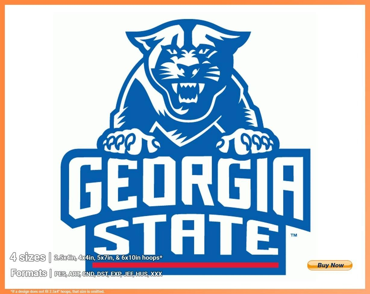 Georgia State Panthers – College Sports Embroidery Logo In 4 With Regard To Georgia State University Holidays 2020