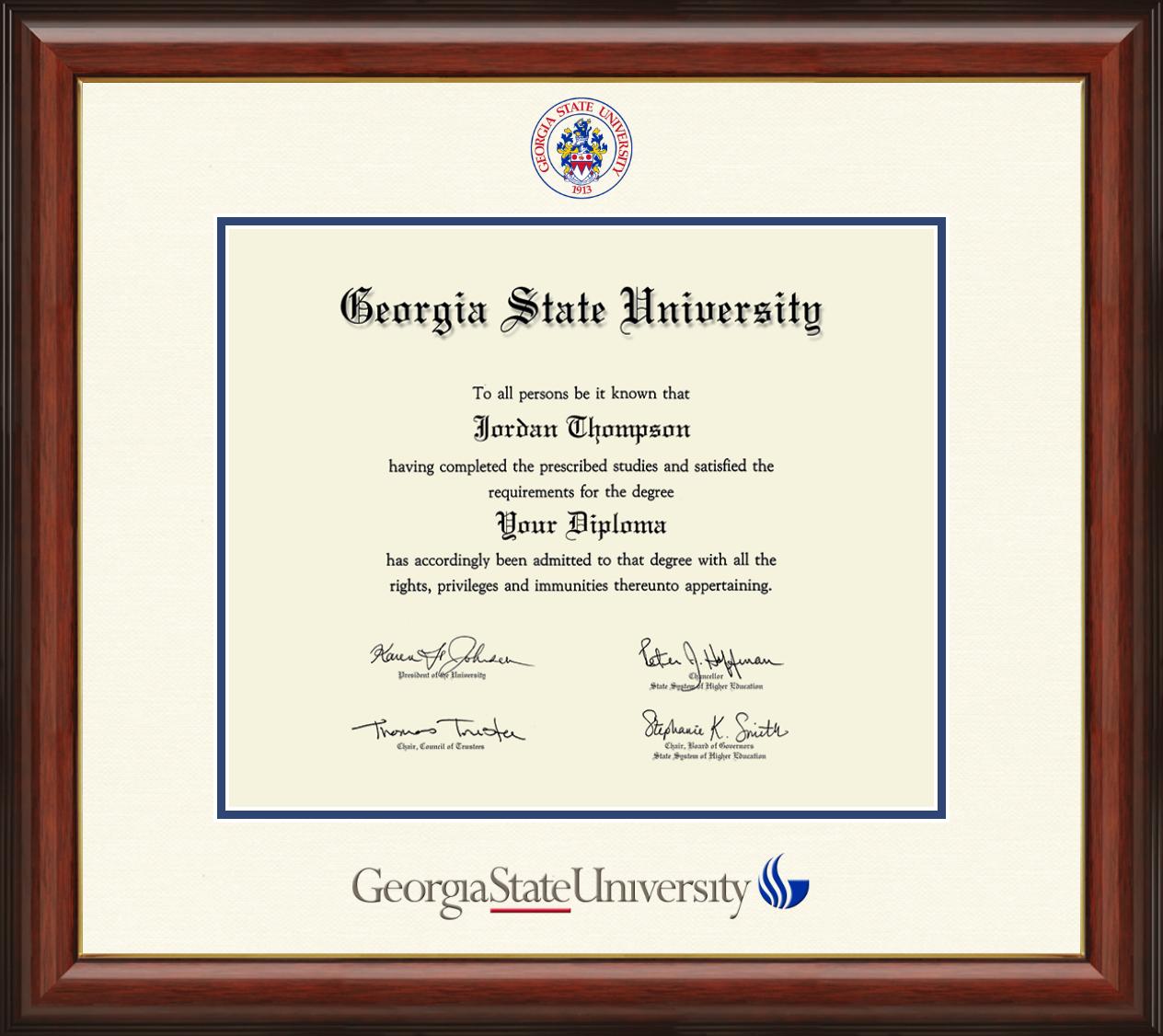 Georgia State University Diploma Frame For Georgia State University Holidays 2020