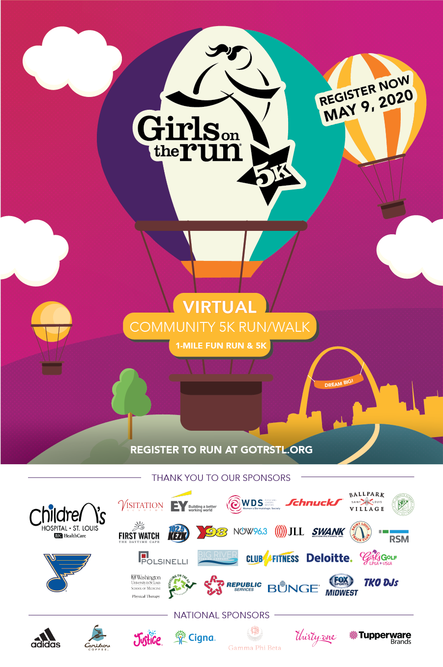 Girls On The Run 5K | Girls On The Run St. Louis Intended For Printable Family Community Events Calendar St Louis Mo