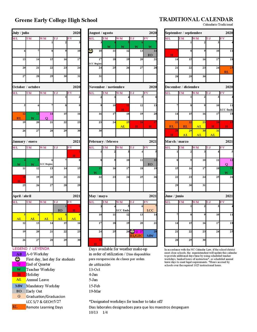 Greene County Schools Releases An Updated 2020 2021 Calendar With Regard To Lenoir County 2021 2021 School Calendar
