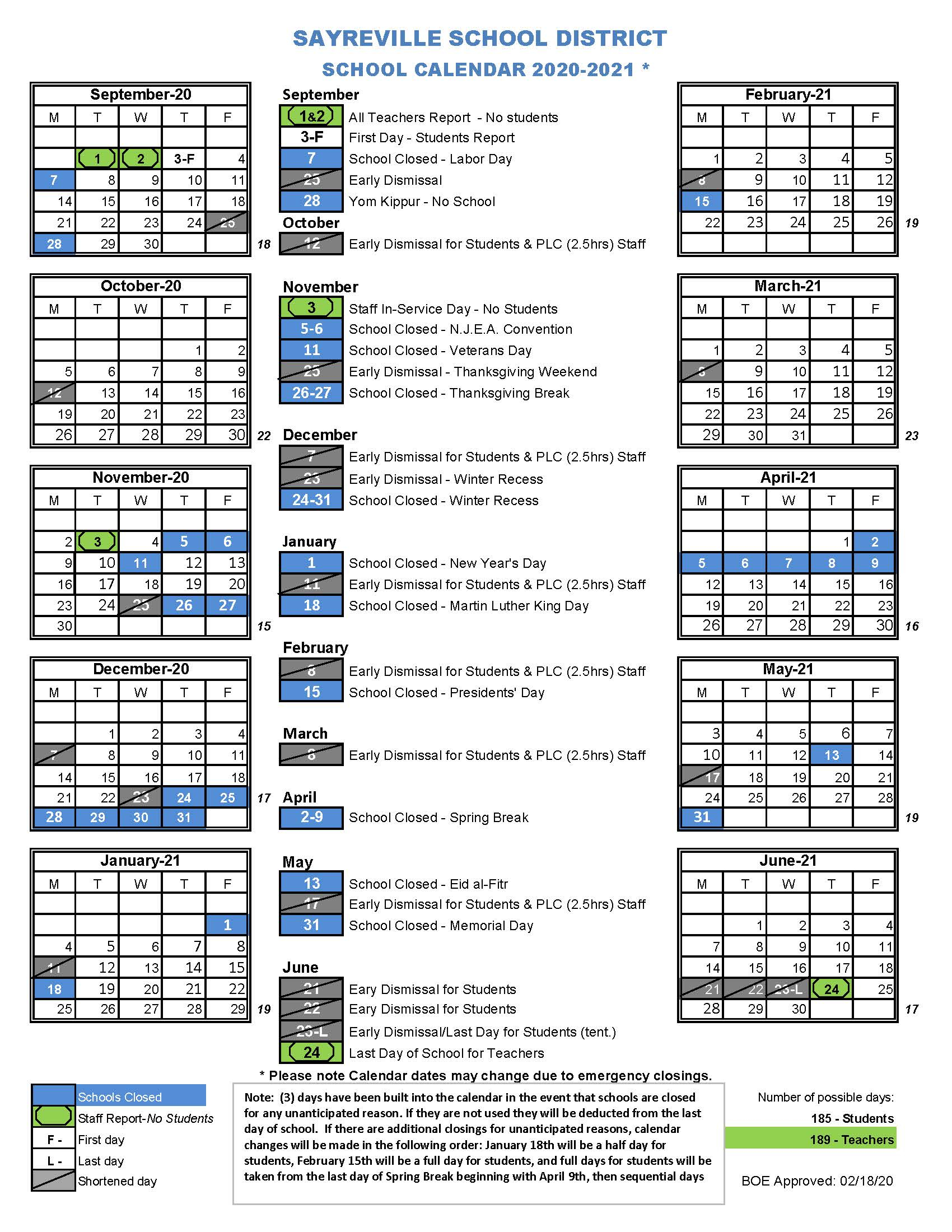 Home – Sayreville Public Schools For Wilson Nc Schoold Calendar