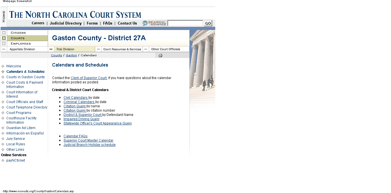 How Do I Find My Court Date If I Don't Have My Ticket Intended For Nc Court By Defendant Name