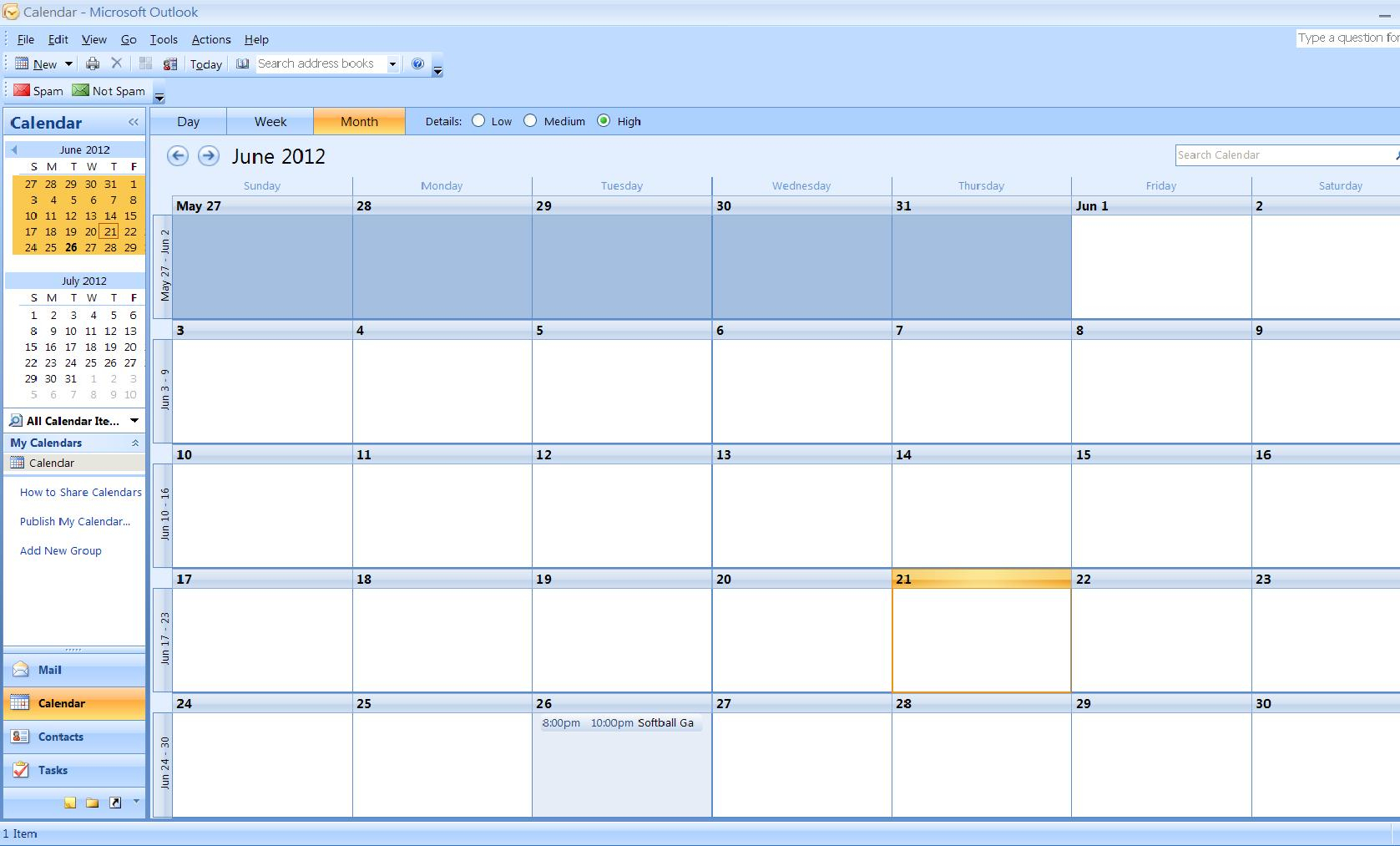 How To Import A Calendar From Excel To Outlook | Turbofuture Pertaining To Convert Spreadsheet To Calendar