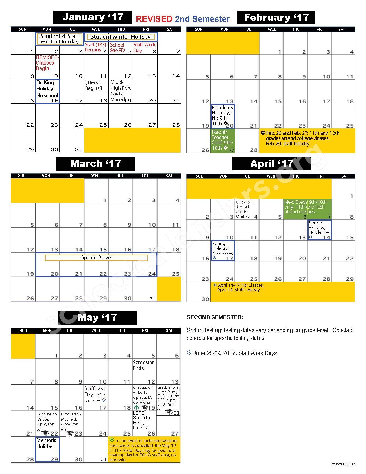 Las Cruces Public Schools Calendars – Las Cruces, Nm Within Las Cruces Isd Calendar