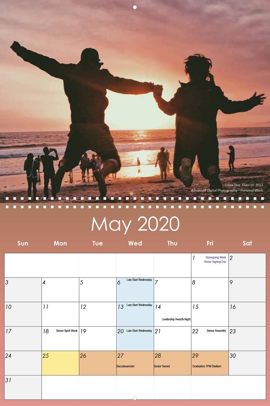 Lathrop High School 2019 2020 Calendar – Yearbox Calendars Pertaining To San Leandro High School 2014 Calendar