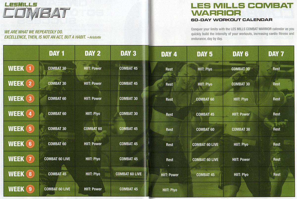 Les Mills Combat Review | Smart Ass Fitness Regarding Les Mills Combat Ultimate Warrior Schedule