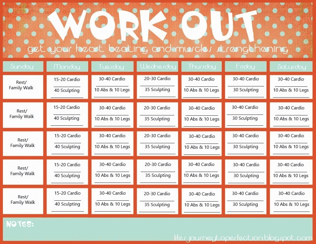 Life's Journey To Perfection: Wisdom Wednesday  Workout Within Ab Challenge Calendar Printable