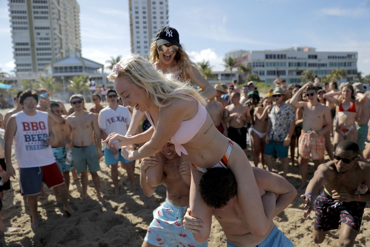 Majoring In Stupidity: Spring Break Partiers Dare pertaining to Delaware State Spring Break