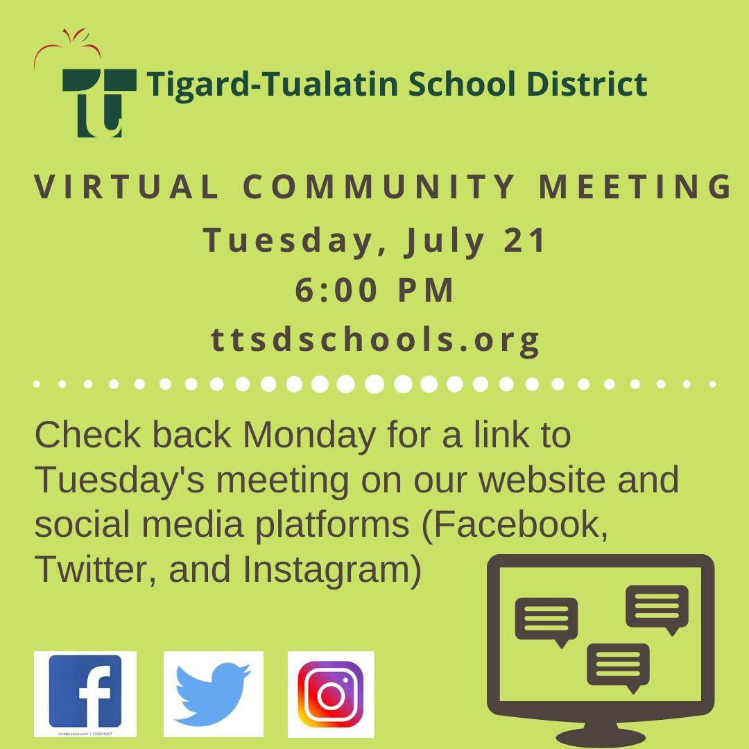 Mr.blasquez (@cftwildcats) | Twitter For Tigard Tualatin School Calendar 2021