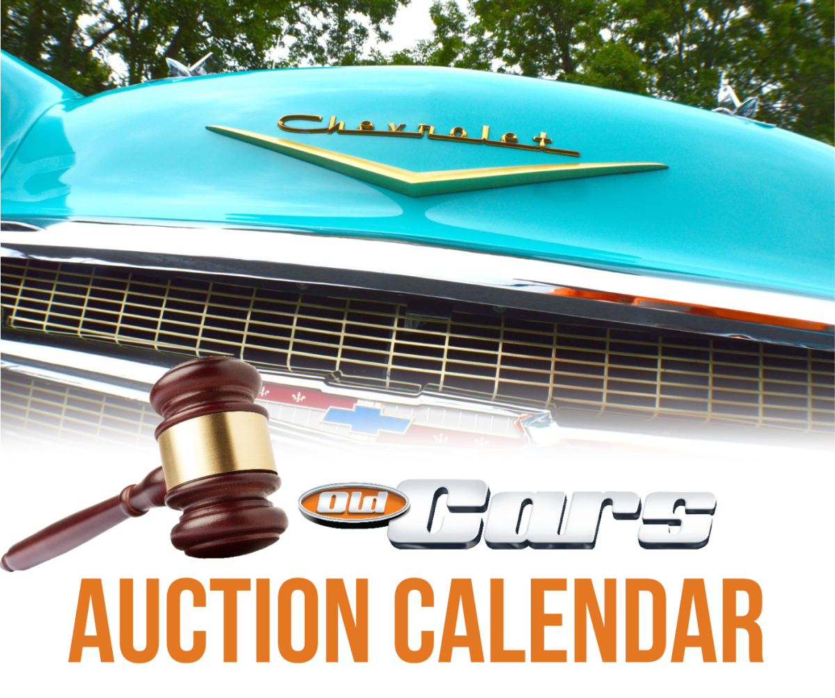 Old Cars Car Auction Calendar - Old Cars Weekly Regarding Palm Beach County Auction Calendar