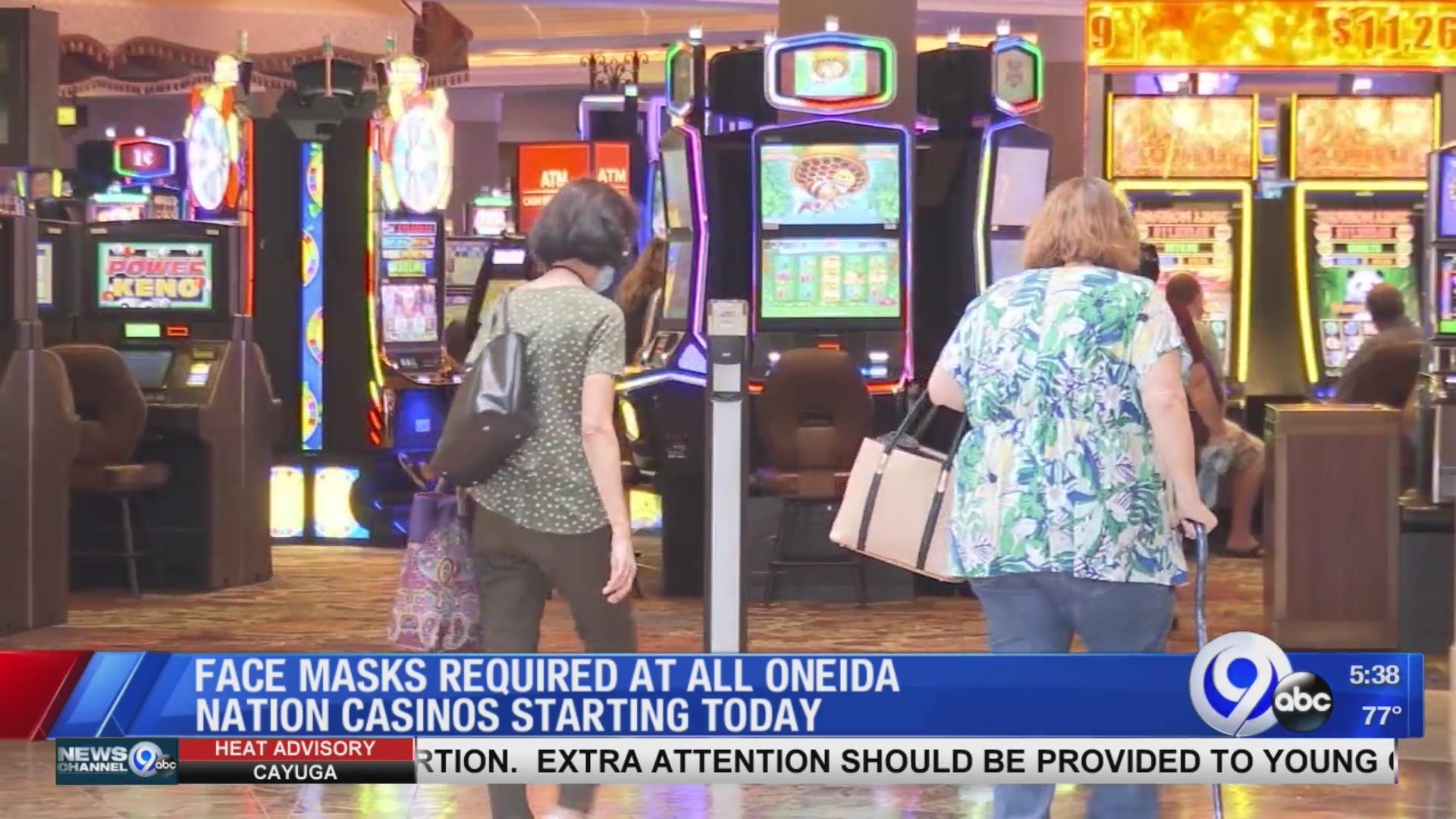 Oneida Indian Nation Requiring Masks At All Casinos | Wsyr Regarding Turning Stone Bingo Hall Calendar