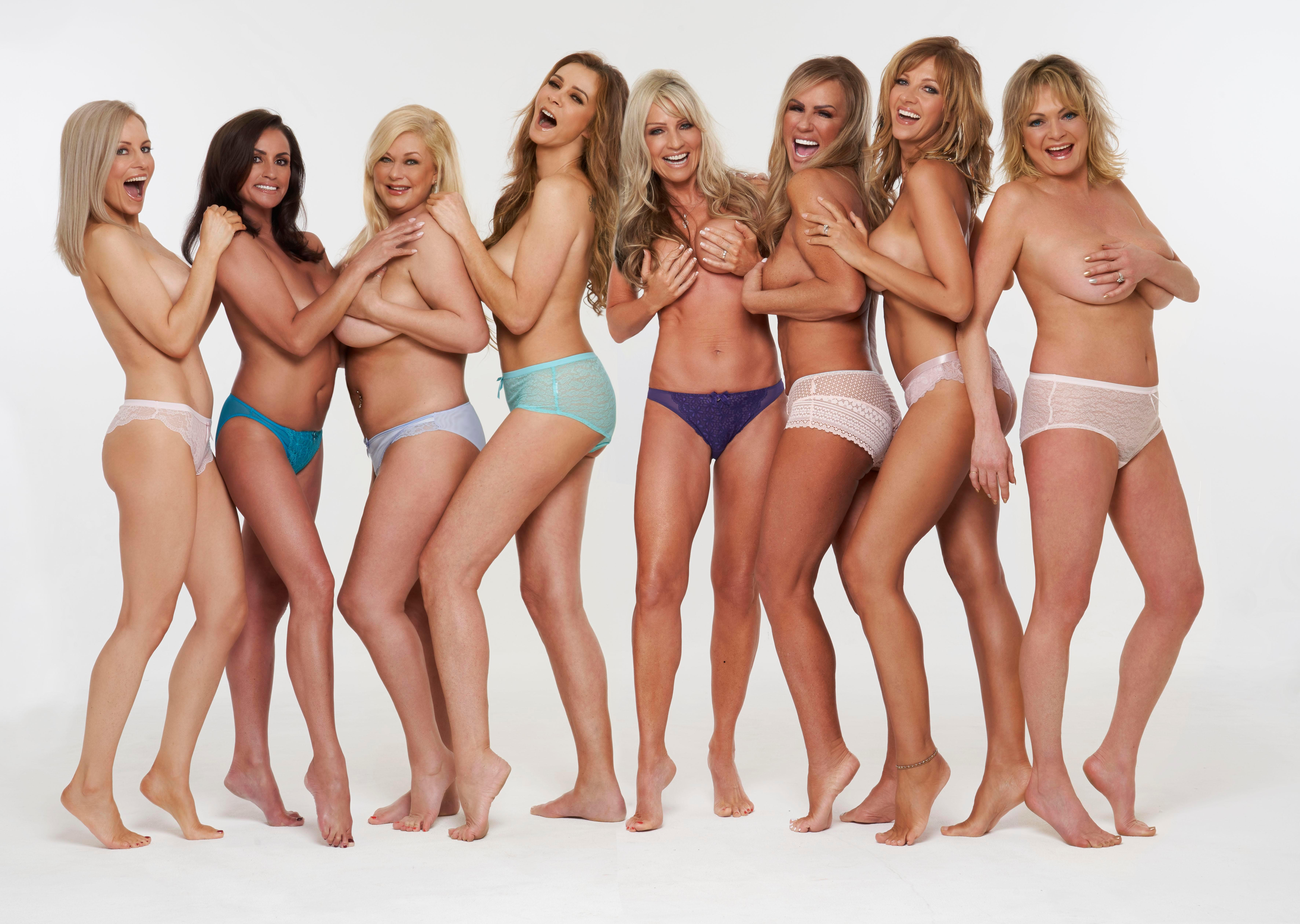 Page 3 Icons Bravely Dare To Bare 20 Years On To Raise Money Inside The Sun Page 3 Girls 2020 Calendar