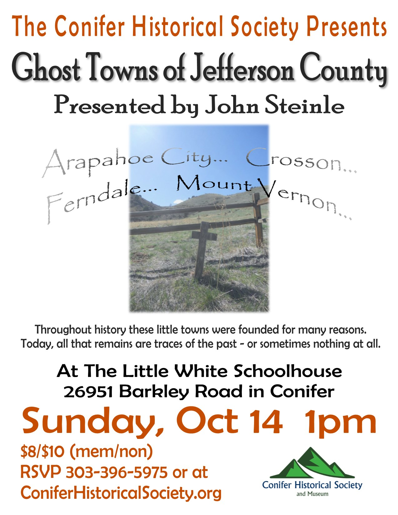Past Events – Conifer Historical Society And Museum Throughout Colorado Jefferson County Teacher Calendar 2015/2020