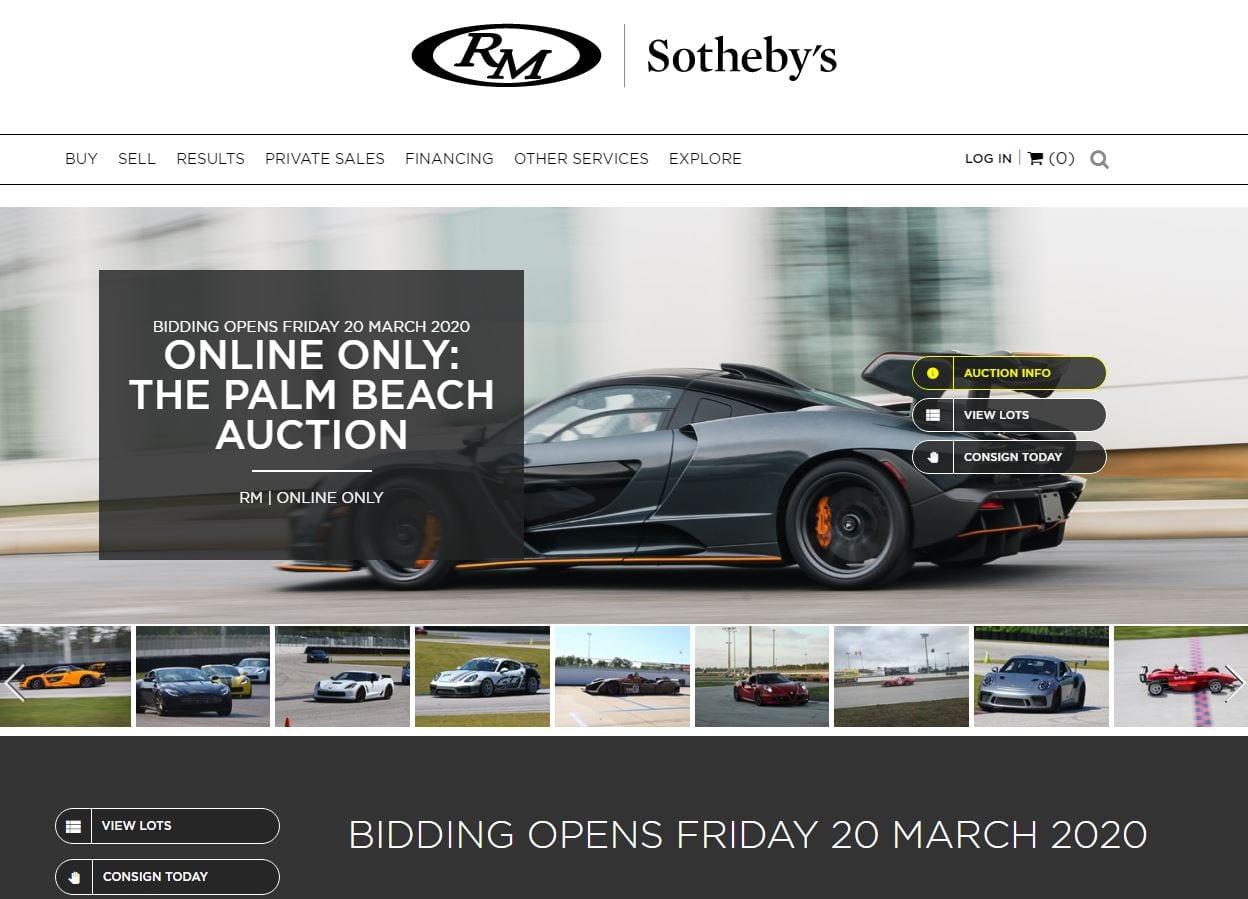 Rm Auctions Palm Beach Event Still Being Held Online Inside Palm Beach County Auction Calendar