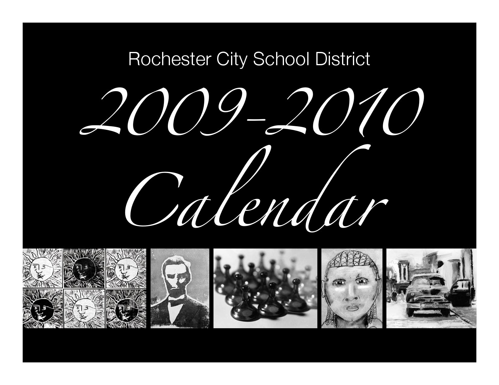 Rochester City School District Calendar 2009-2010Sam regarding Rochester City School District Calendar