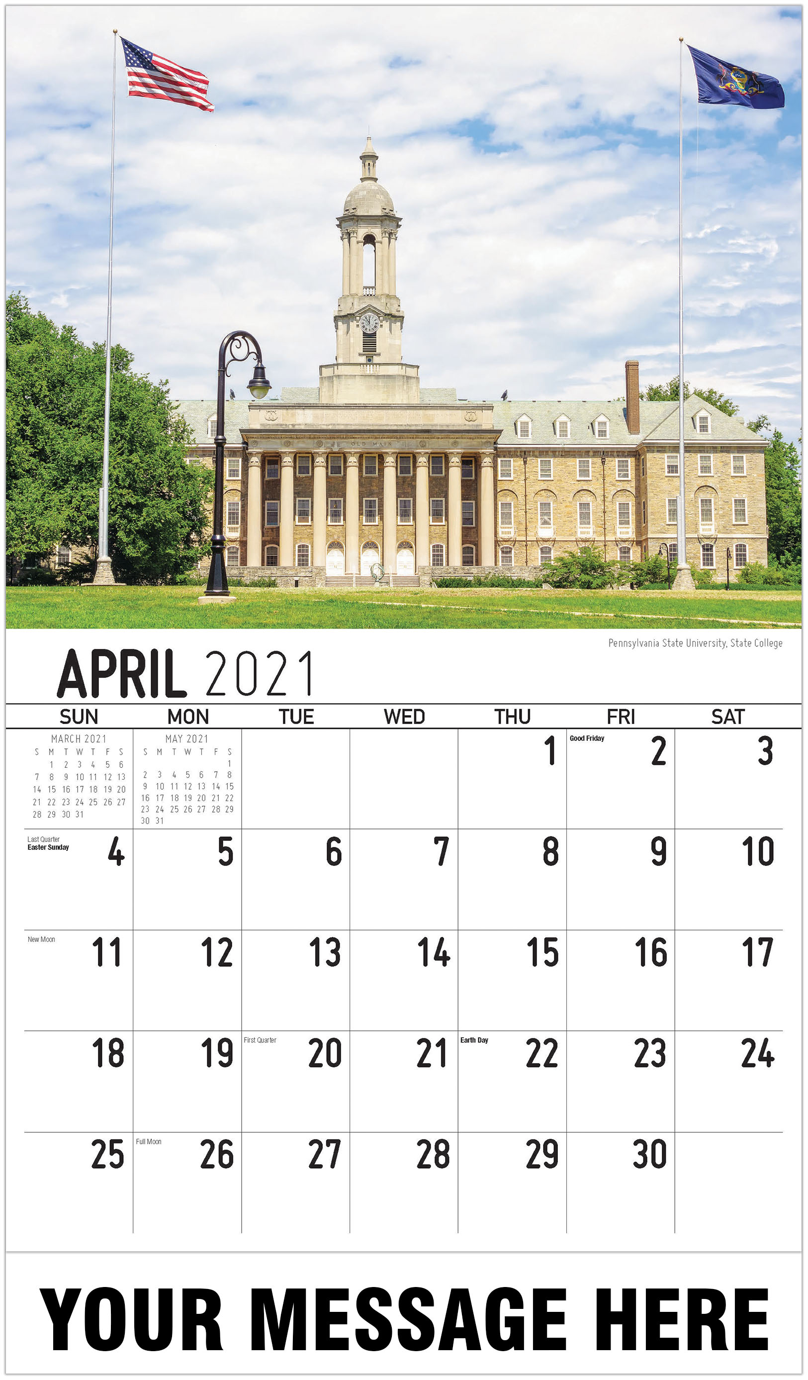 Scenes Of Pennsylvania Inside American River College 2021 Calendar