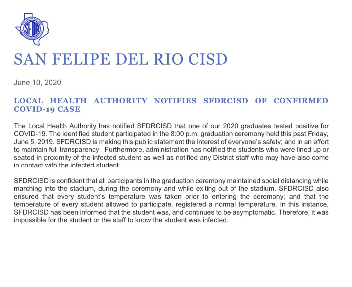 Sfdrcisd (@sfdrcisd) | Twitter With San Felipe Del Rio Cisd Schedule