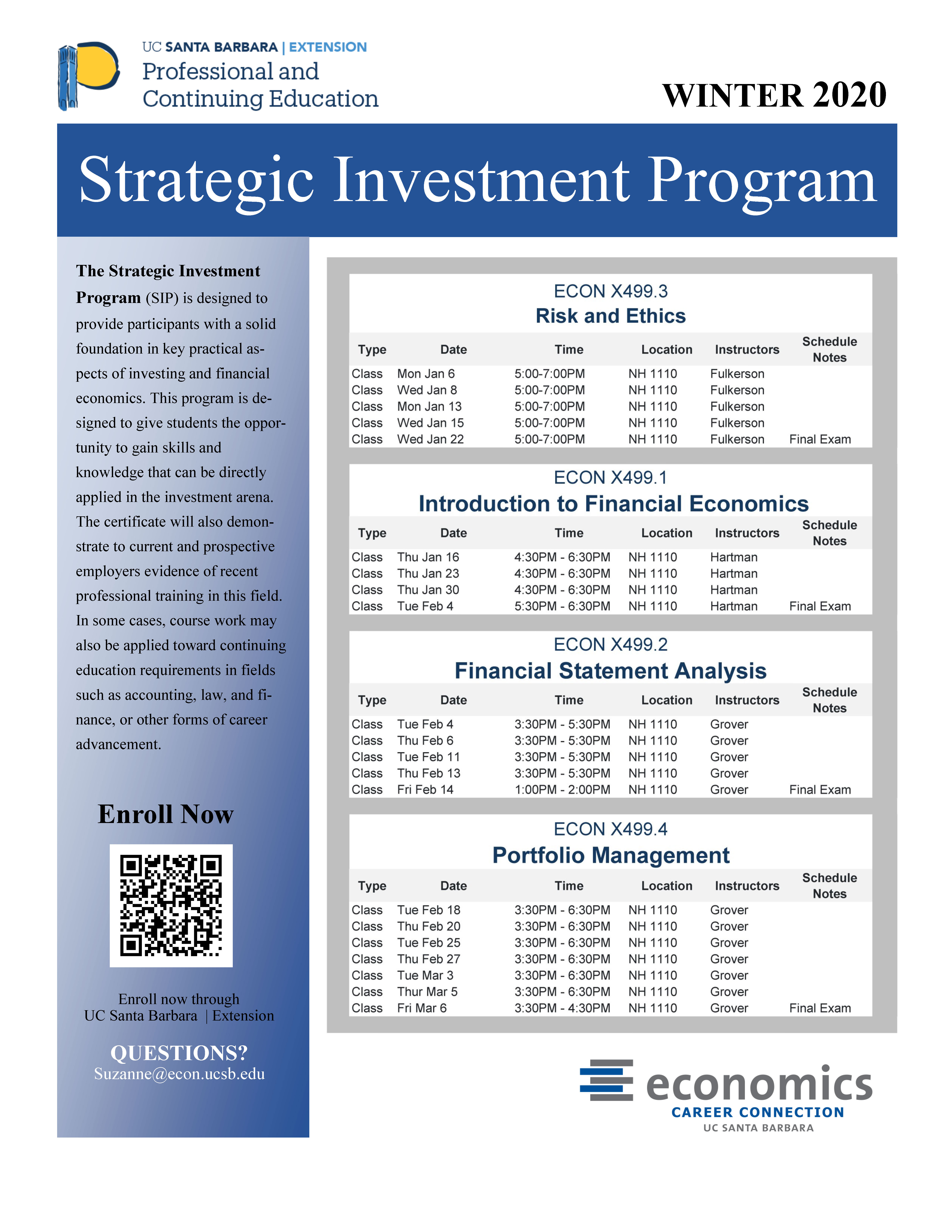 Strategic Investment Certificate – Coleman Fellows With Regard To When Does 2020 Fall Semester Begin At Uc Santa Barbara