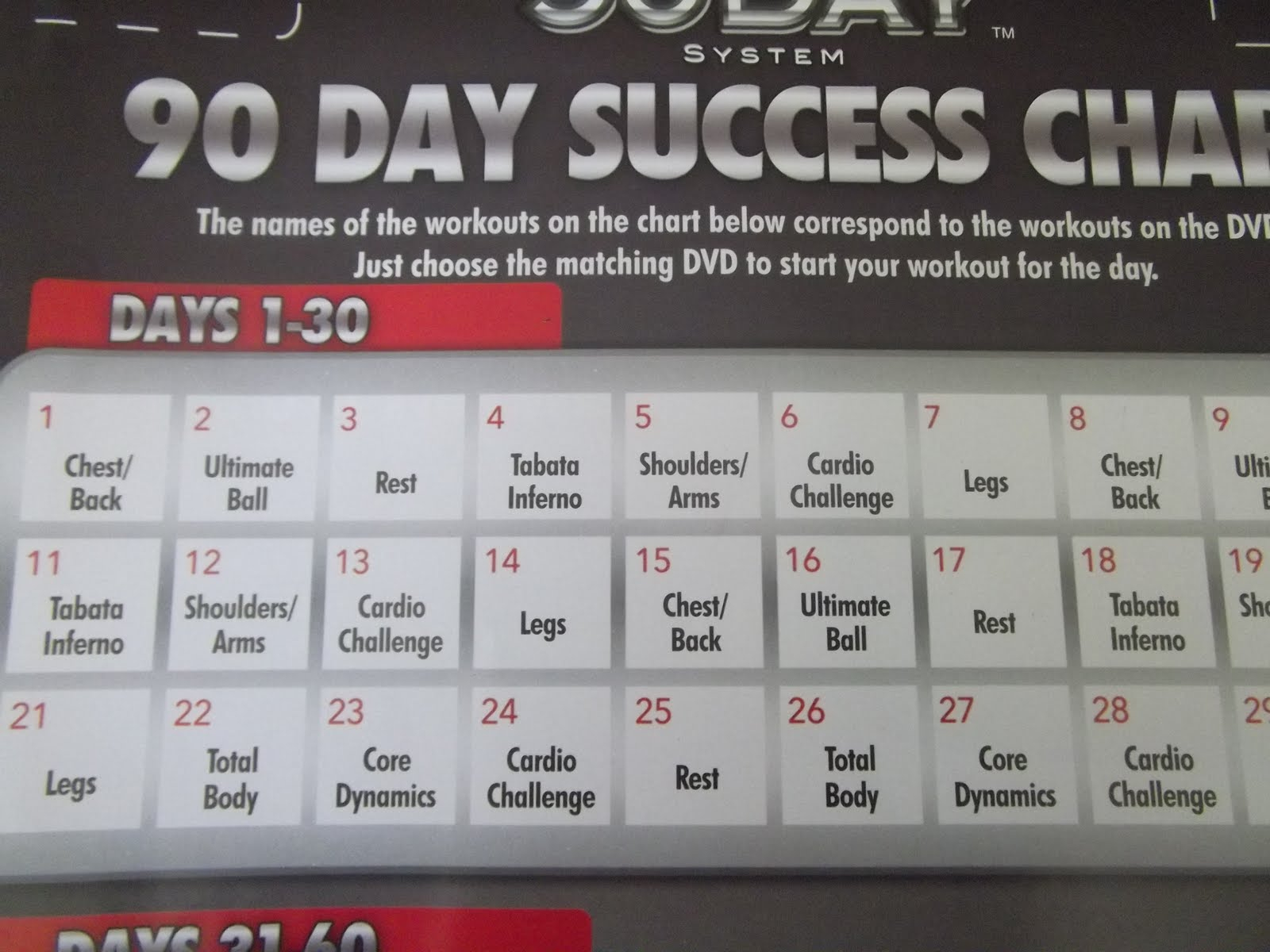Supreme 90 Day Workout Cardio Challenge – Workoutwalls For 90 Day Supreme Workout Calendar
