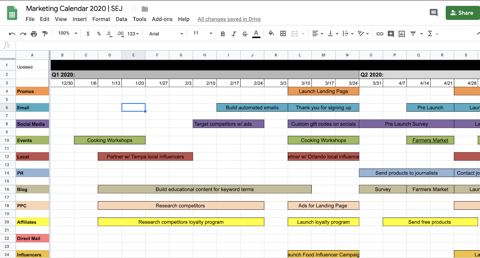 The Ultimate Holiday Marketing Calendar For 2020 [Free Pertaining To The Walking Dead Calendar Template