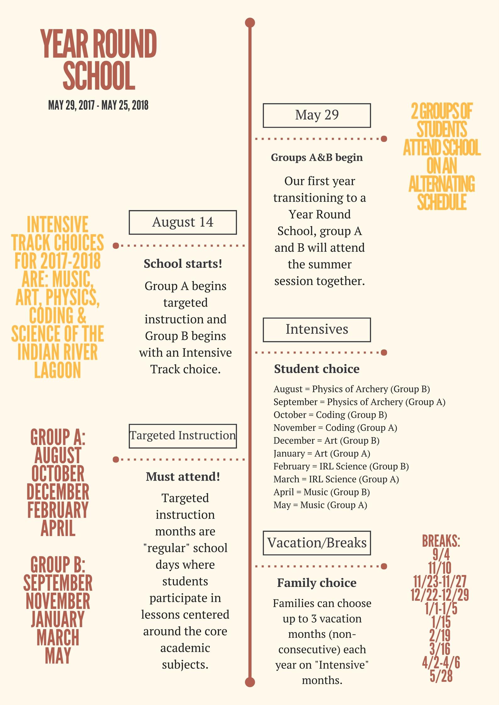 Transitioning To A Year Round School Schedule. Intended For Year Round School Schedule Sample