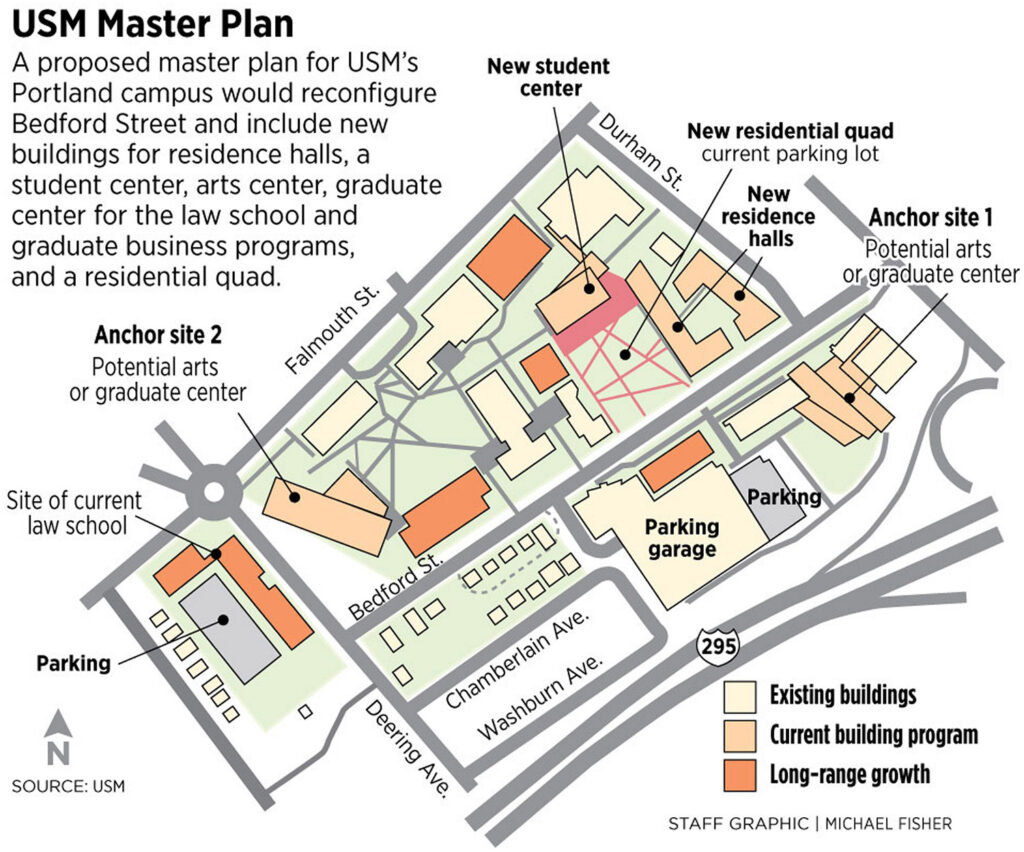 Trustees Approve Master Plan For Usm That Would Transform Inside University Of Southern Maine Academic Calendar 2021