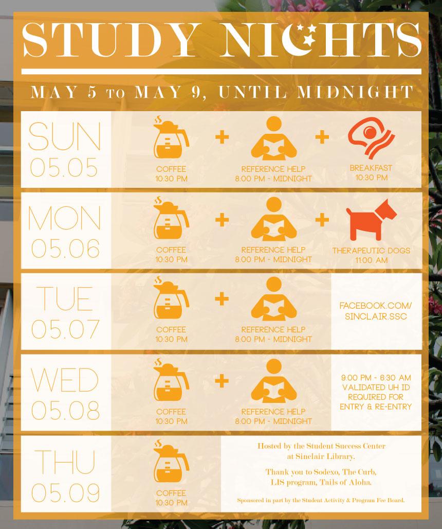 Uh Manoa Campus Events Calendar Intended For Sinclair Academic Calendar