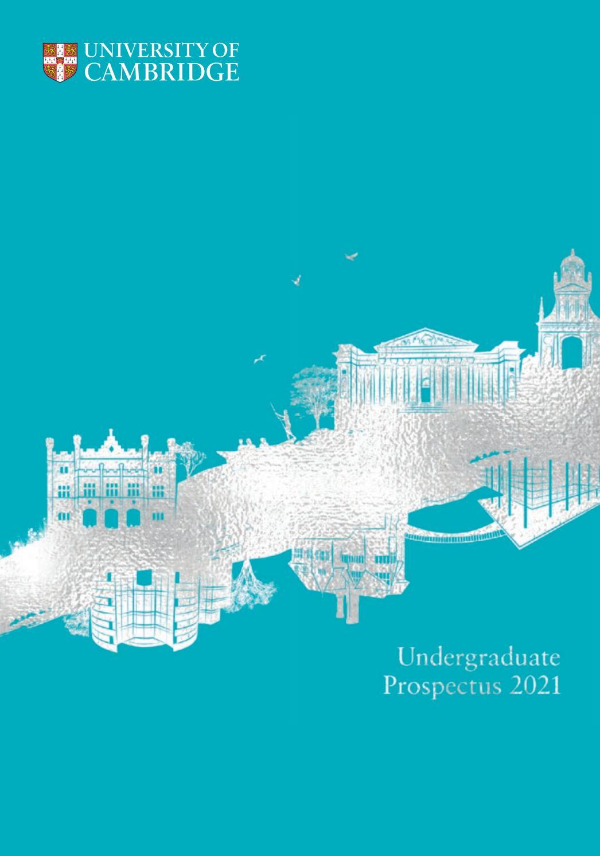 University Of Cambridge Undergraduate Prospectus 2021 For University Of Glasgow Holiday Calender 2021