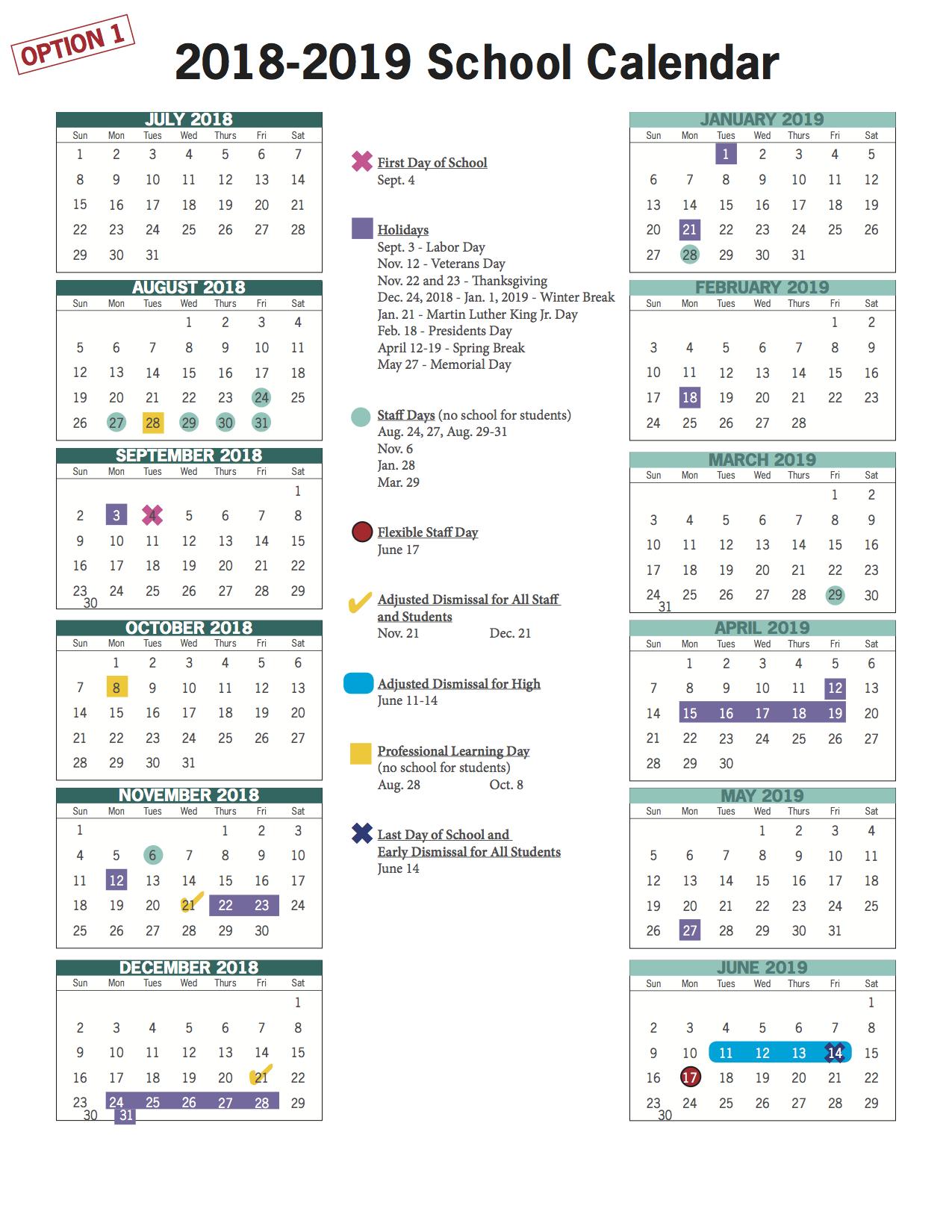 Vbcps E Town Hall - 2018 2019 And 2019 2020 School Calendar Throughout Va Beach Schools Staff Calendar