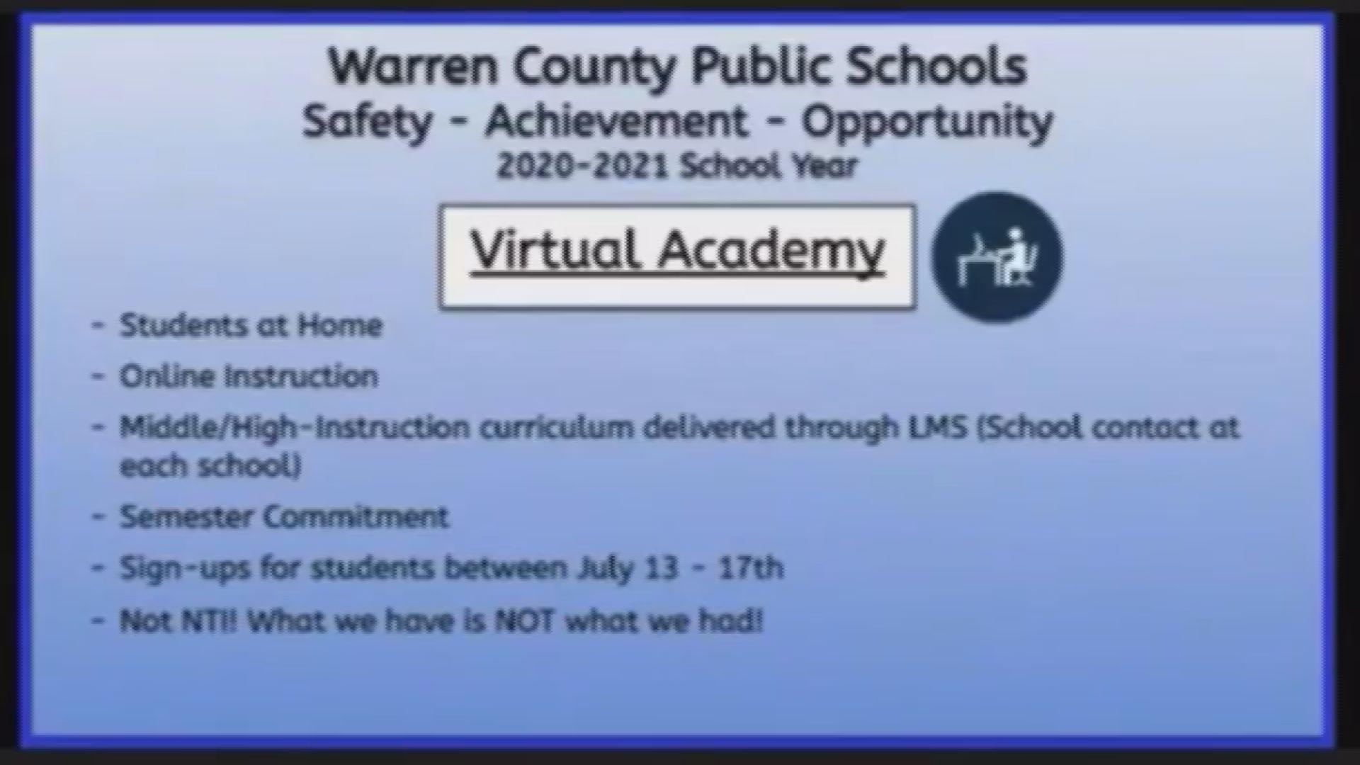 Warren County Schools Now Accepting Applications For Virtual With Warren County Ky School Fall Break 2021