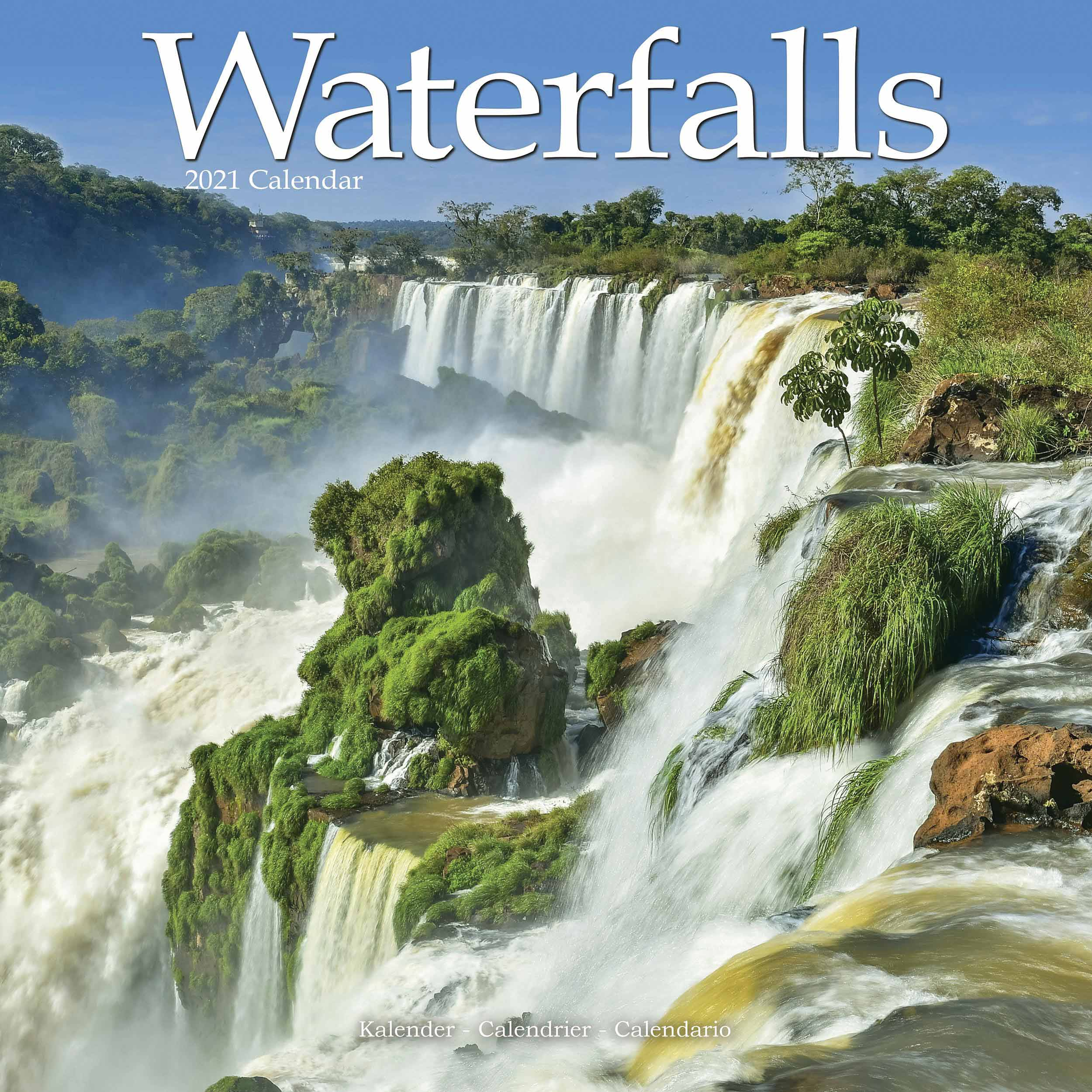 Waterfalls Calendar 2021 At Calendar Club Intended For Niagara Falls School Calendar 2021