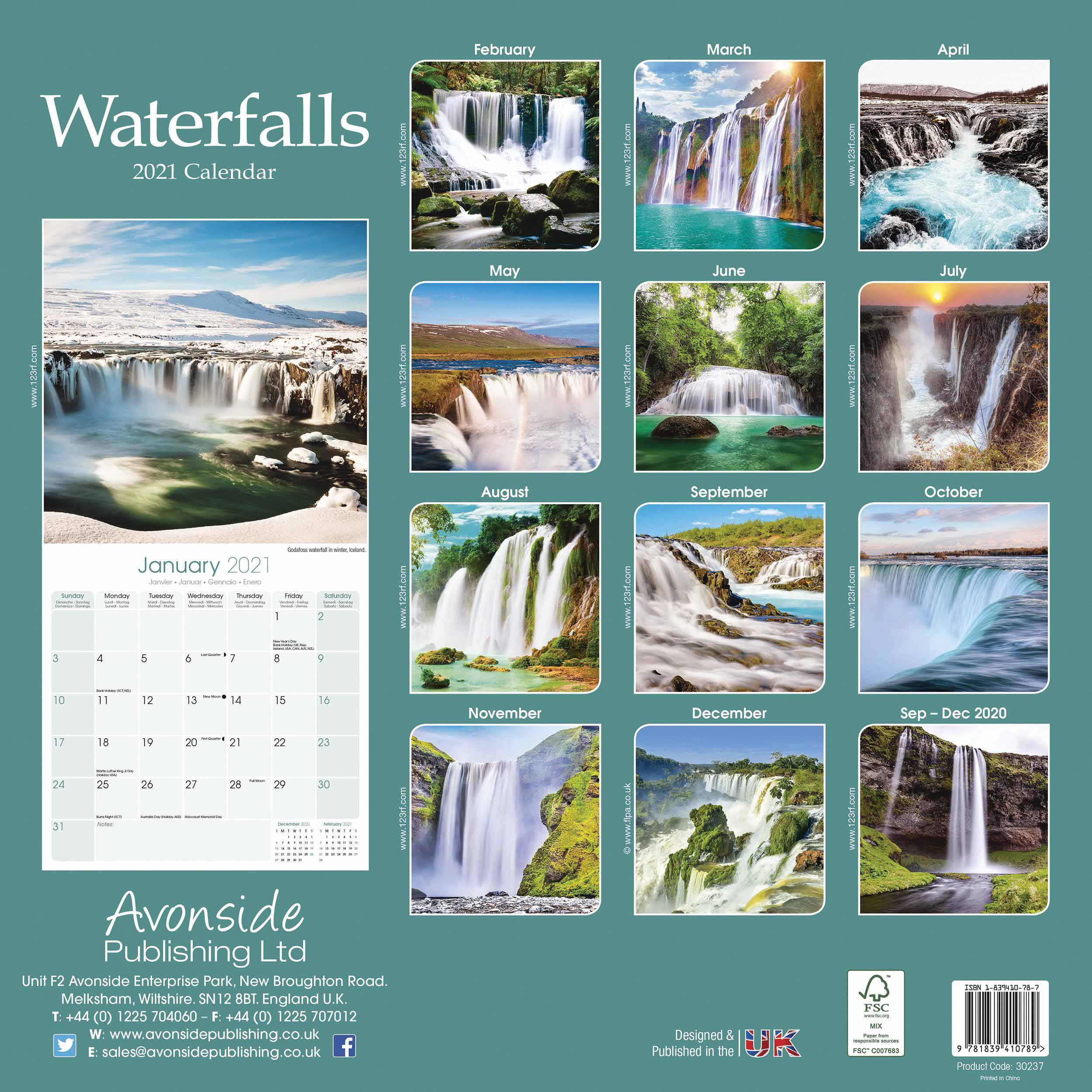 Waterfalls Calendar 2021 At Calendar Club With Niagara Falls School Calendar 2021