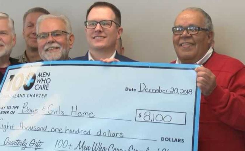 100+ Men Who Care Make Donation To Boy And Girls Club Within Lakeshorecentral Boys And Girls Club Calendar