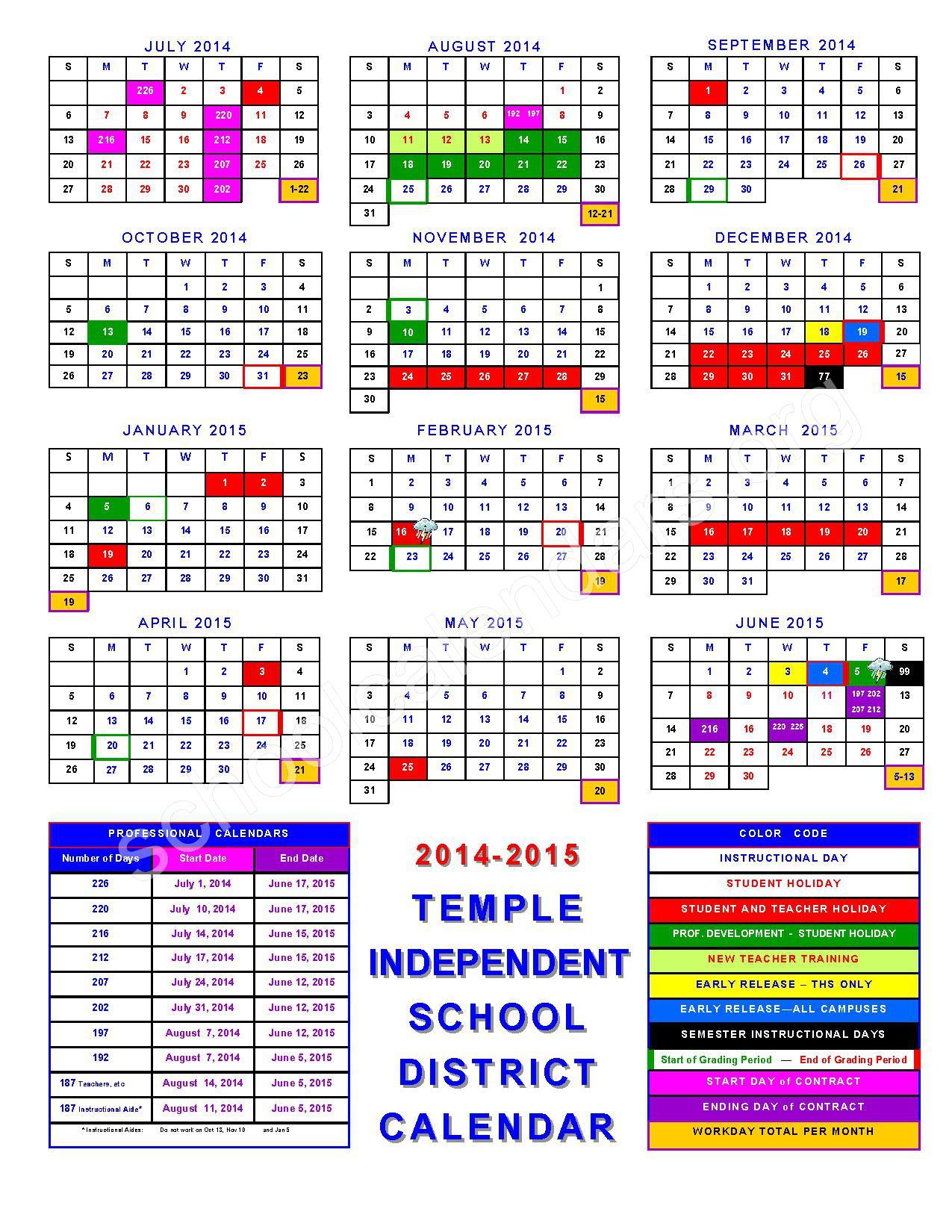 2014 - 2015 Academic Calendar – Calendar Detail For Gcu 2014 Academic Calendar