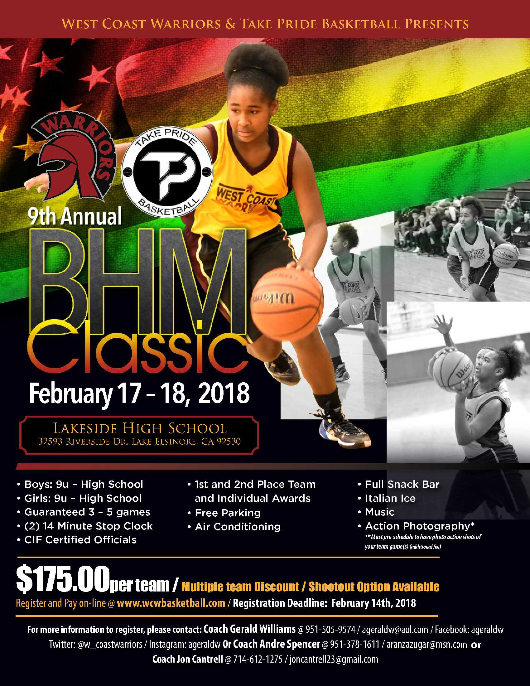 2018 9Th Annual Bhm Tournament - Aau Basketball Regarding Lakeshorecentral Boys And Girls Club Calendar