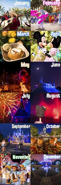 2020 Best & Worst Months To Visit Disneyland | Disneyland Intended For Disneyland Paris 2020 Calendar