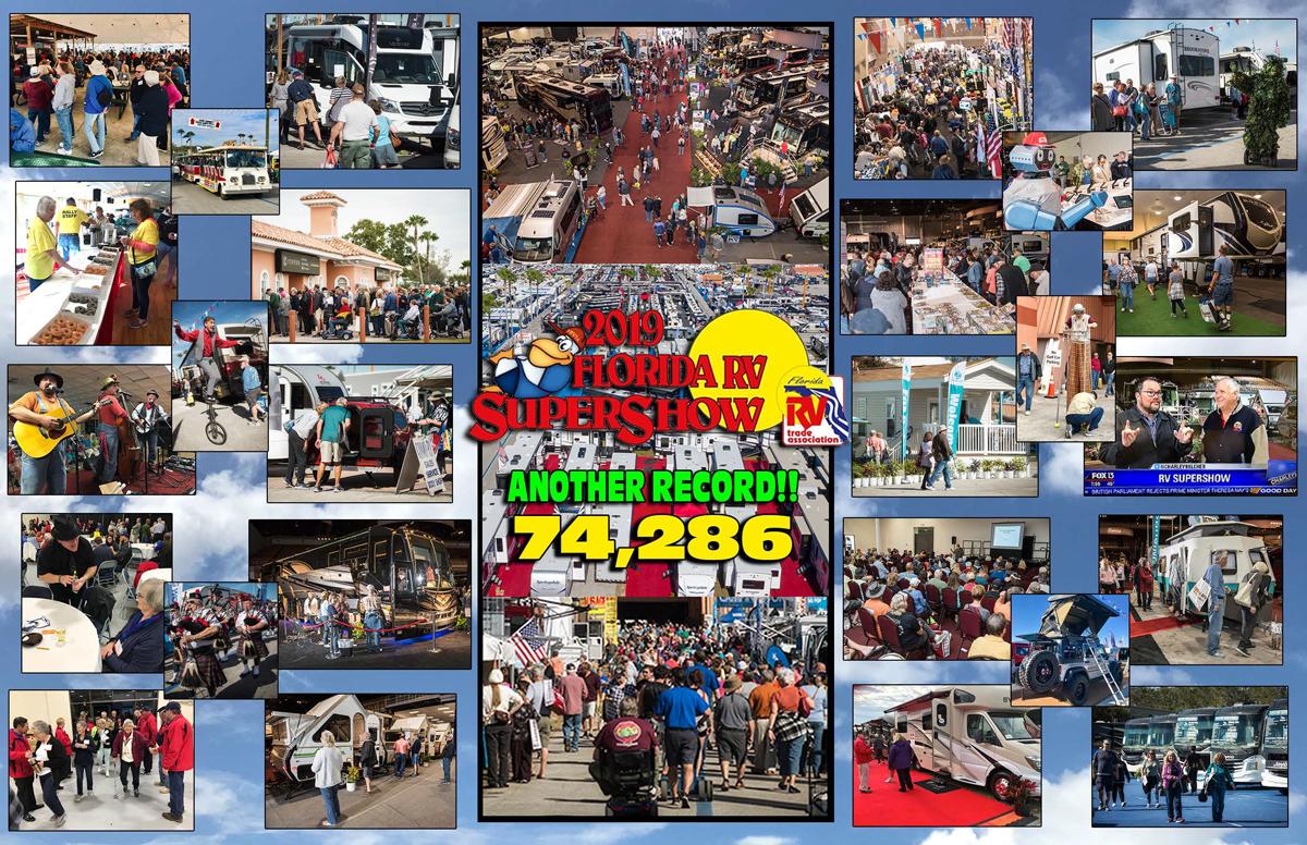 2020 Florida Rv Supershow – Florida Rv Trade Intended For Florida State Gairground Calendar