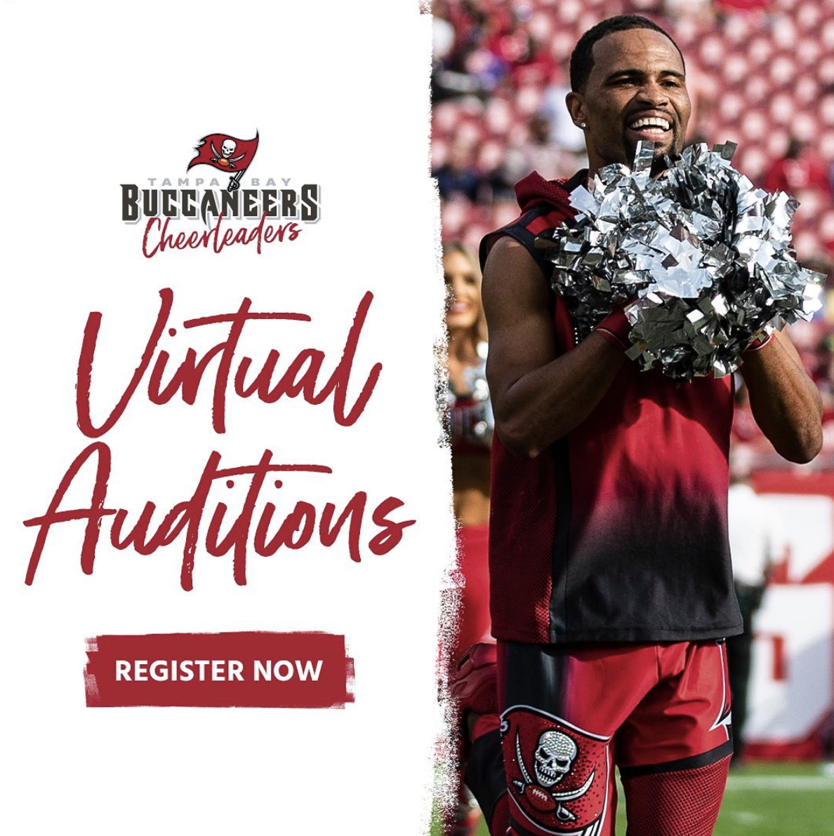 2020 Nfl Tampa Bay Buccaneers Cheerleaders Virtual Auditions With Buccaneers Cheerleaders Women 2020 In A Bikini
