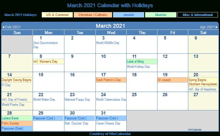 2021 Calendar With Religious Holidays | Calendar 2021 With Regard To Boise State University Calendar 2021
