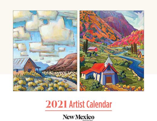 2021 New Mexico Magazine Artist Calendar (Other) | Bookworks Throughout University Of New Mexico 2021 Calendar